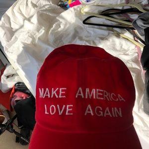Accessories - Make America LOVE Again #antitrump hat! ❤️🧡💛💚💙